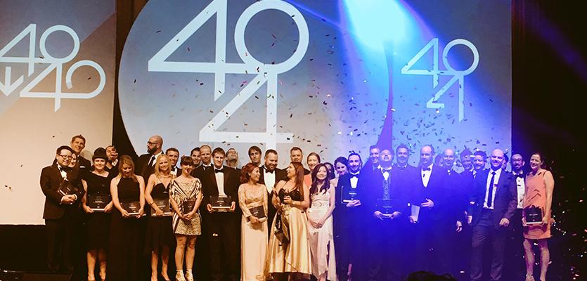 2017 Business News 40Under40 winners