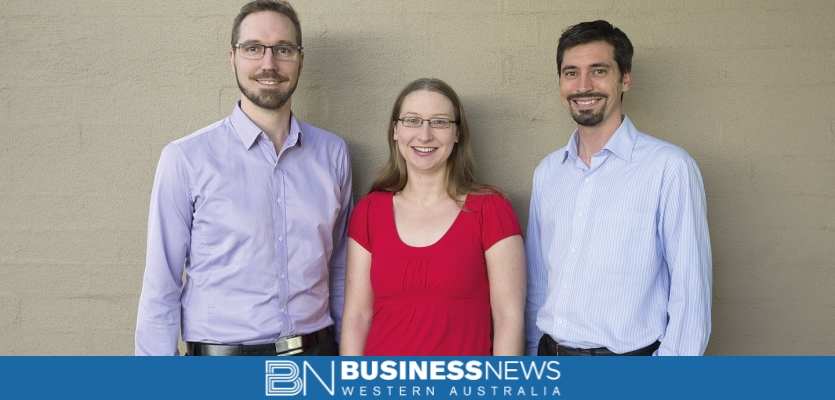 Picture of the three directors of CourseGenius the best online training platform