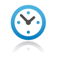 Clock concept for more online compliance training coming soon